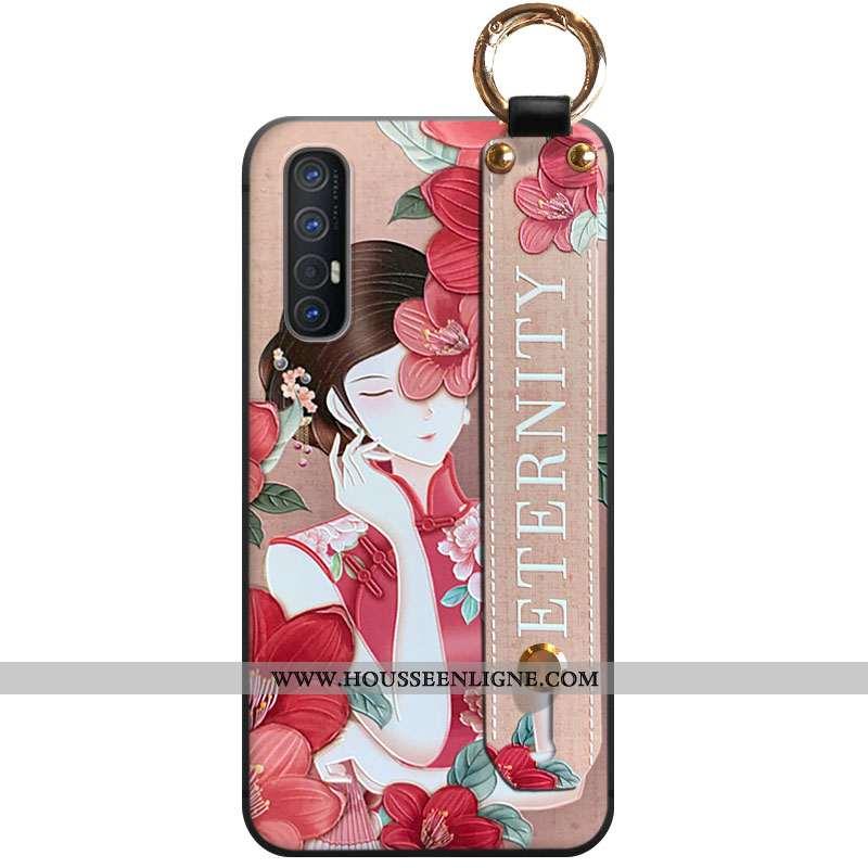 Housse Oppo Reno 3 Pro Ornements Suspendus Rouge Téléphone Portable Vent Nouveau Coque