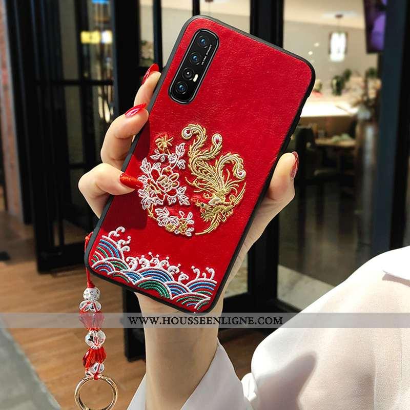 Housse Oppo Reno 3 Pro Tendance Fluide Doux Amoureux Nouveau Style Chinois Téléphone Portable Incass