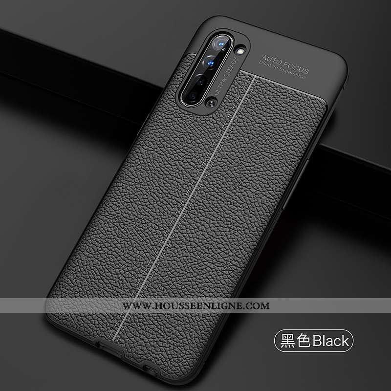 Housse Oppo Reno 3 Silicone Coque Incassable Noir Cool Téléphone Portable Luxe