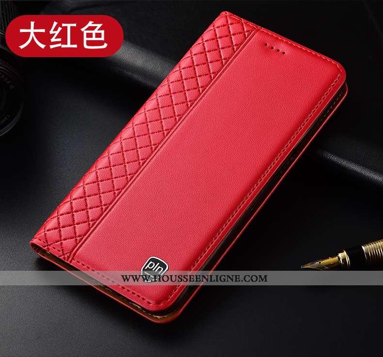 Housse Oppo Reno2 Z Cuir Véritable Protection Coque Étui Incassable Téléphone Portable Tout Compris