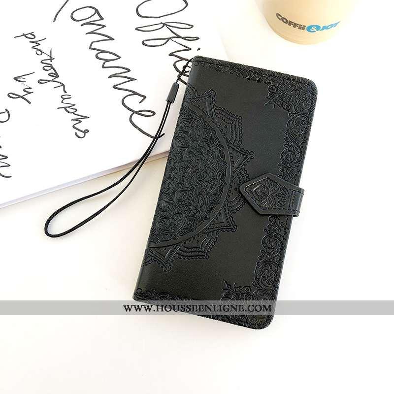 Housse Samsung Galaxy A10 Protection Ornements Suspendus Incassable Coque Tout Compris Cuir Gaufrage