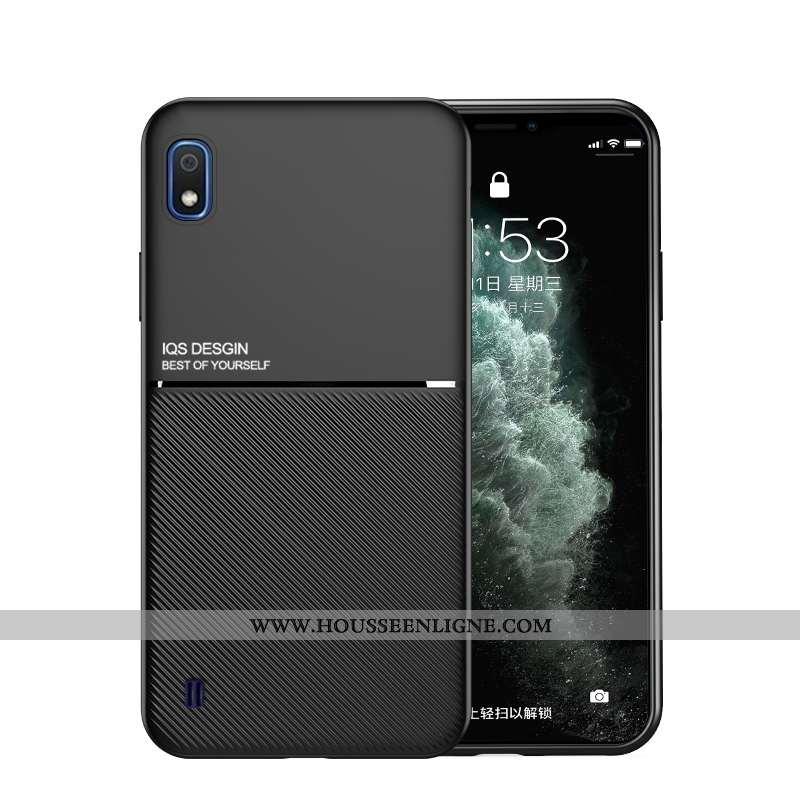 Housse Samsung Galaxy A10 Protection Tendance Membrane Simple Luxe Tout Compris Noir