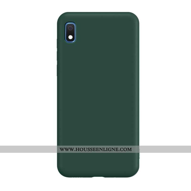Housse Samsung Galaxy A10 Tendance Légère Tout Compris Vert Étui Coque Légères Verte