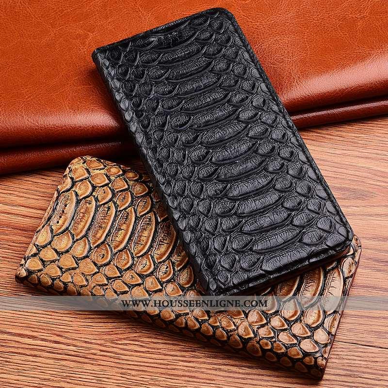 Housse Samsung Galaxy A10s Silicone Protection Délavé En Daim Téléphone Portable Noir Cuir Véritable