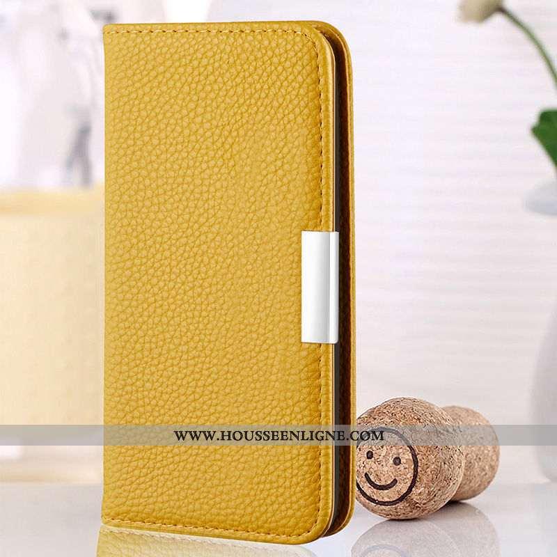 Housse Samsung Galaxy A20e Cuir Coque En Silicone Jaune Incassable Téléphone Portable Étui