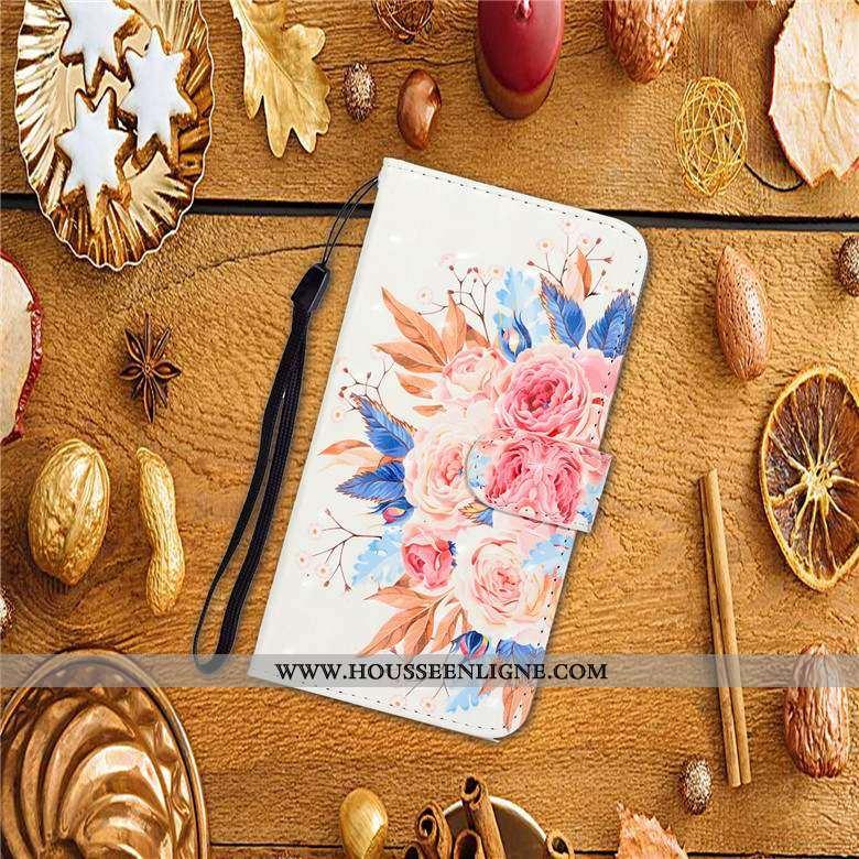 Housse Samsung Galaxy A20e Protection Cuir Incassable Téléphone Portable Coque Étui Blanche