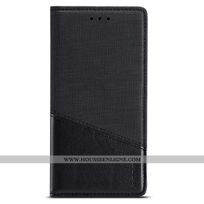 Housse Samsung Galaxy A21s Accessoires Protection Étoile Tissu Cuir Coque Noir