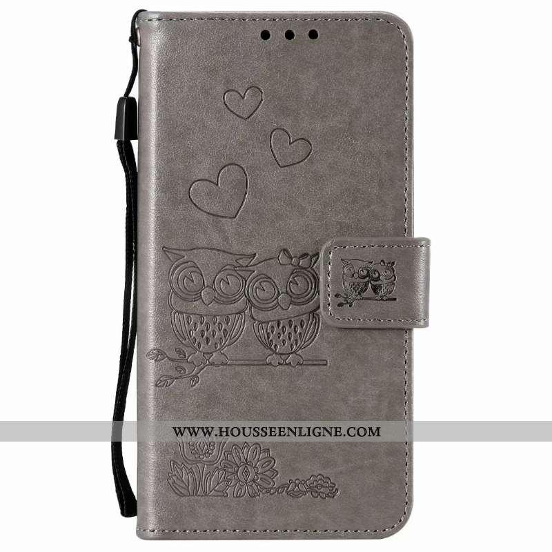 Housse Samsung Galaxy A21s Protection Cuir Étui Clamshell Coque Gris Téléphone Portable