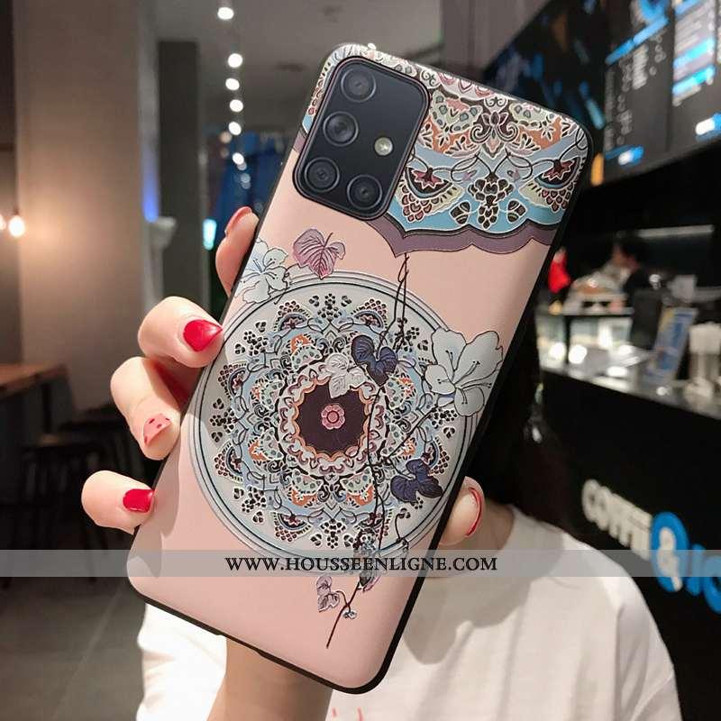 Housse Samsung Galaxy A21s Protection Délavé En Daim Téléphone Portable Silicone Coque Petit Personn