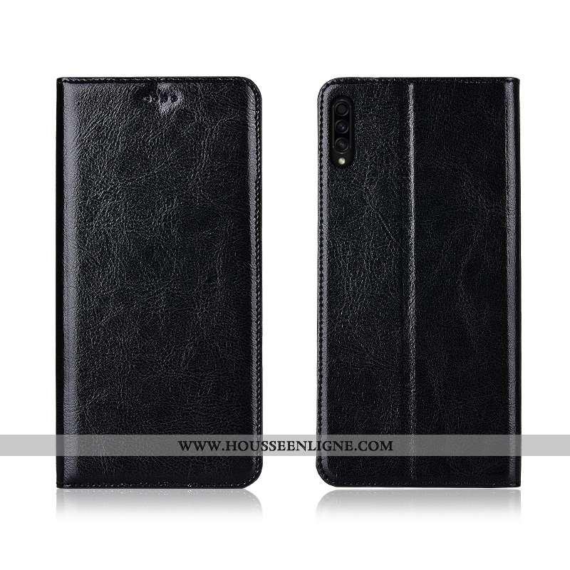 Housse Samsung Galaxy A30s Tendance Cuir Étoile Nouveau Incassable Modèle Fleurie Téléphone Portable
