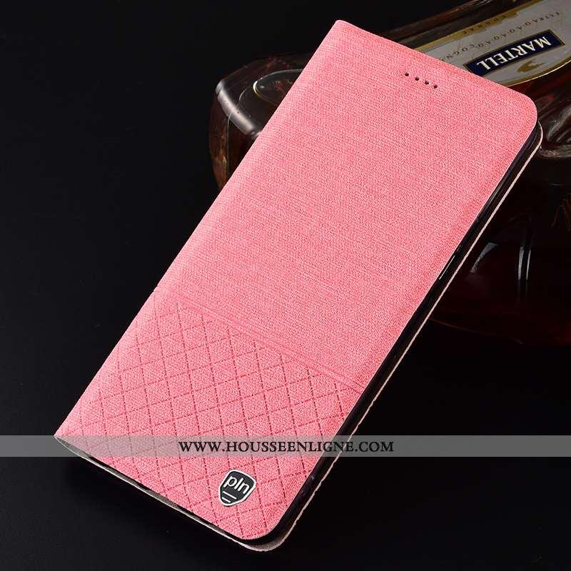 Housse Samsung Galaxy A40s Protection Téléphone Portable Incassable Plaid Rose Coque Étoile
