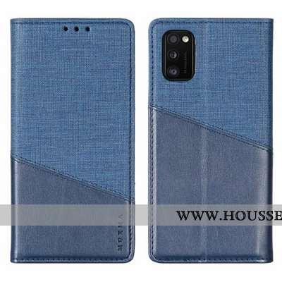 Housse Samsung Galaxy A41 Protection Étoile Bleu Marin Étui Téléphone Portable Tout Compris Incassab