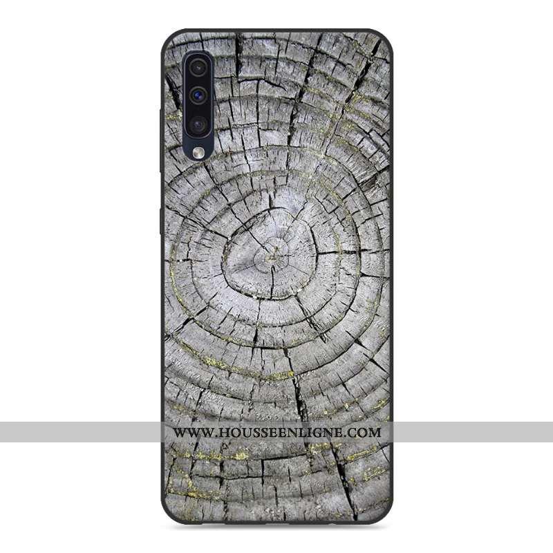 Housse Samsung Galaxy A50 Coque En Silicone Protection Personnalité Étoile Téléphone Portable En Boi