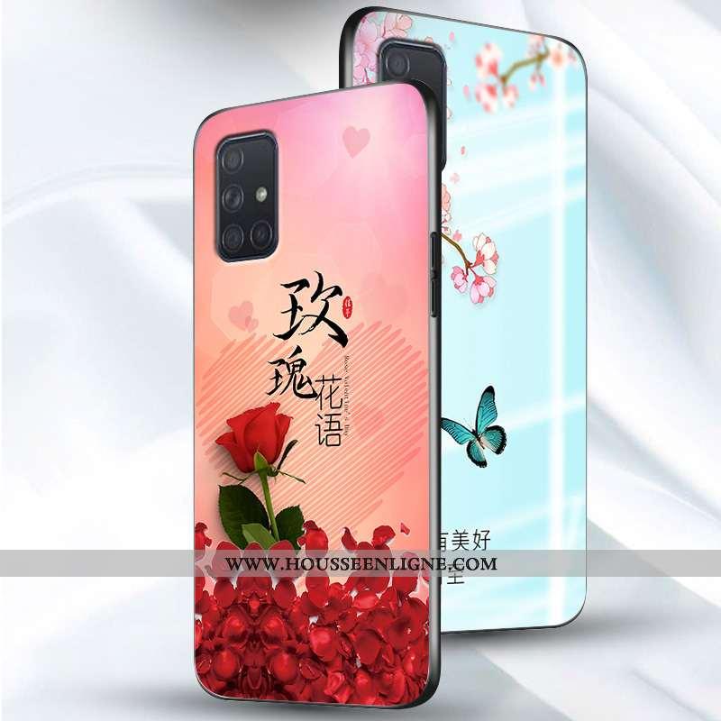 Housse Samsung Galaxy A51 Ultra Tendance Tout Compris Créatif Téléphone Portable Fluide Doux Étoile