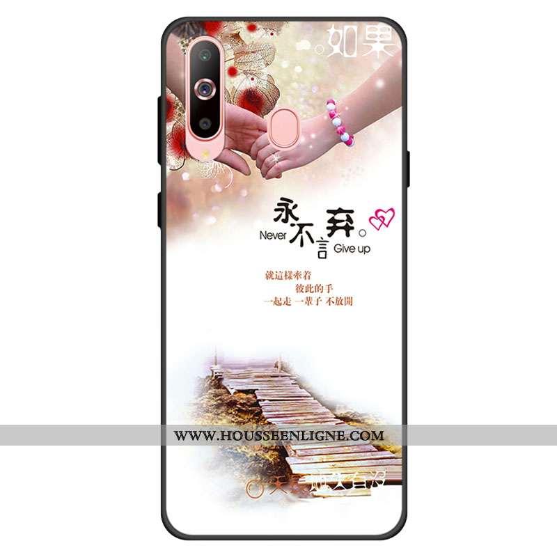 Housse Samsung Galaxy A60 Personnalité Fluide Doux Silicone Incassable Protection Téléphone Portable