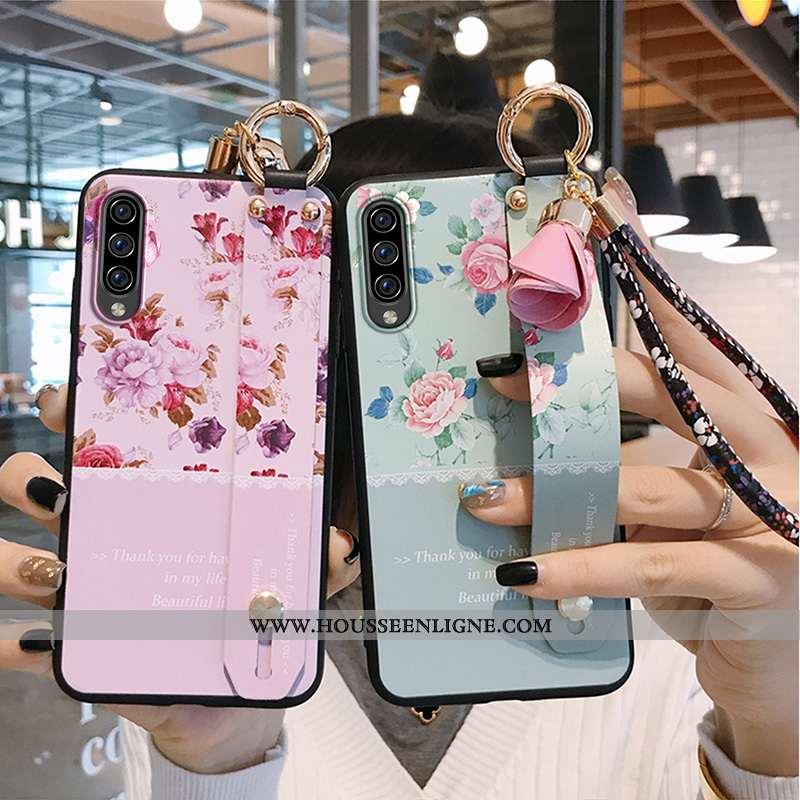 Housse Samsung Galaxy A70s Fluide Doux Silicone Amoureux Protection Légères Tendance Délavé En Daim