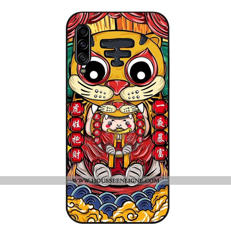 Housse Samsung Galaxy A70s Personnalité Créatif Silicone Tendance Coque Téléphone Portable Support R