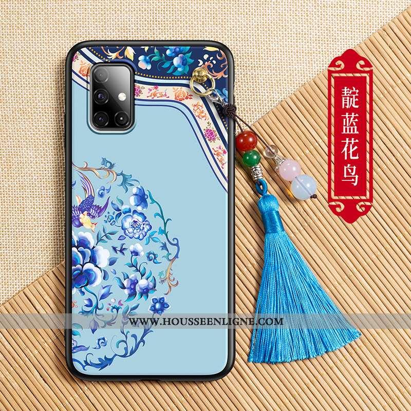 Housse Samsung Galaxy A71 Silicone Protection Étoile Coque Tendance Ornements Suspendus Tout Compris