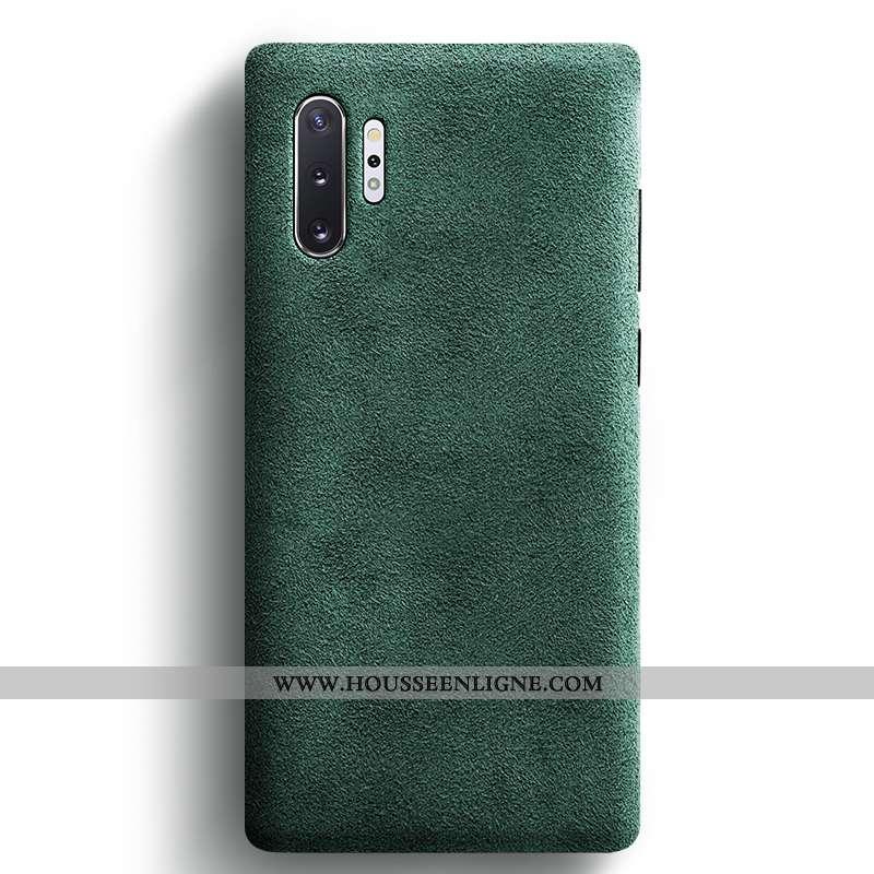 Housse Samsung Galaxy Note 10+ Daim Fourrure Personnalité Tout Compris Tendance Coque Téléphone Port