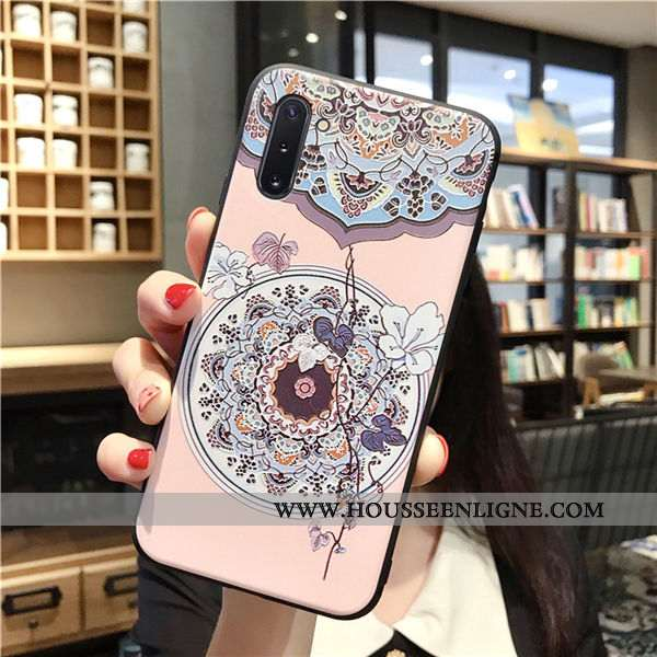 Housse Samsung Galaxy Note 10 Personnalité Créatif Téléphone Portable Incassable Étoile Coque Légère