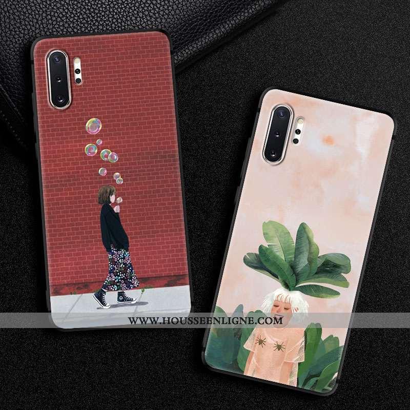 Housse Samsung Galaxy Note 10+ Tendance Fluide Doux Étoile Créatif Ornements Suspendus Téléphone Por