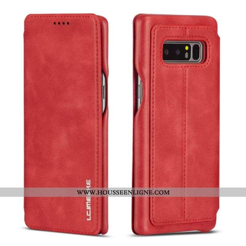 Housse Samsung Galaxy Note 8 Silicone Protection Téléphone Portable Coque Ornements Suspendus Cuir F