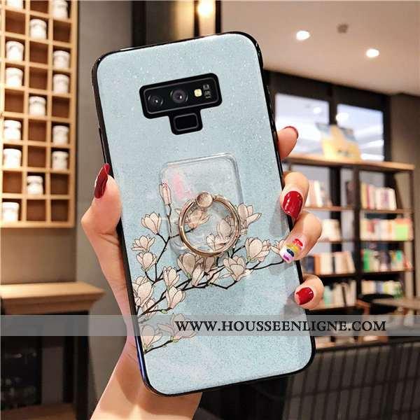 Housse Samsung Galaxy Note 9 Fluide Doux Silicone Boucle Tout Compris Incassable Téléphone Portable