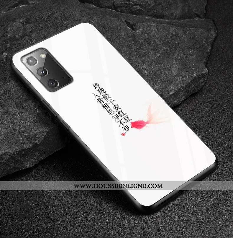 Housse Samsung Galaxy Note20 Fluide Doux Protection Miroir Tout Compris Personnalisé Style Chinois V
