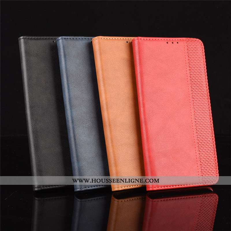 Housse Samsung Galaxy Note20 Ultra Portefeuille Cuir Coque Téléphone Portable Étui Rouge