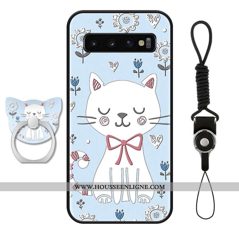 Housse Samsung Galaxy S10+ Dessin Animé Charmant Étoile Ornements Suspendus Incassable Étui Téléphon