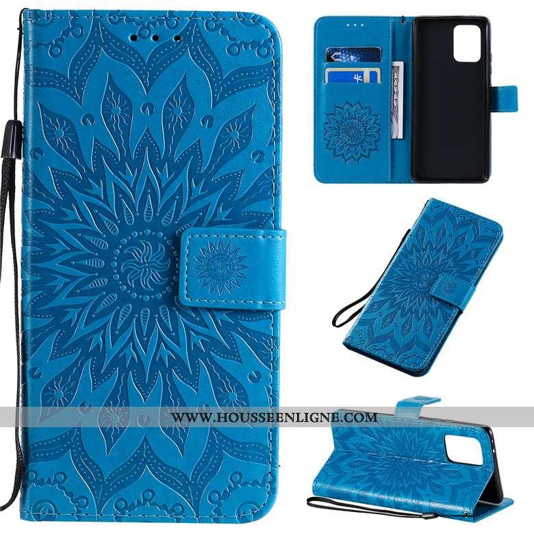 Housse Samsung Galaxy S10 Lite Cuir Protection Incassable Tout Compris Étui Téléphone Portable Étoil