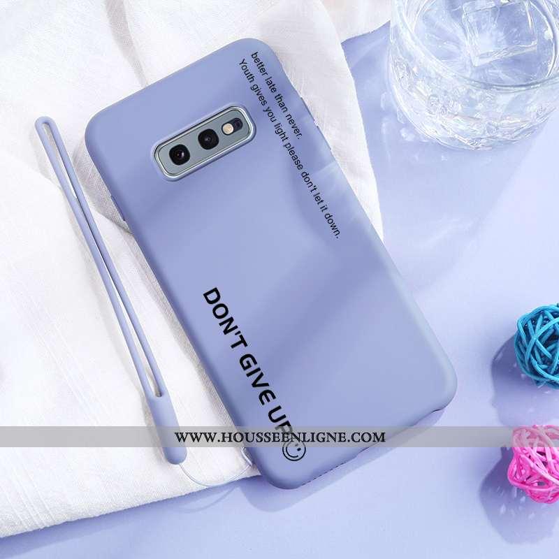 Housse Samsung Galaxy S10e Silicone Protection Téléphone Portable Tendance Étoile Fluide Doux Coque
