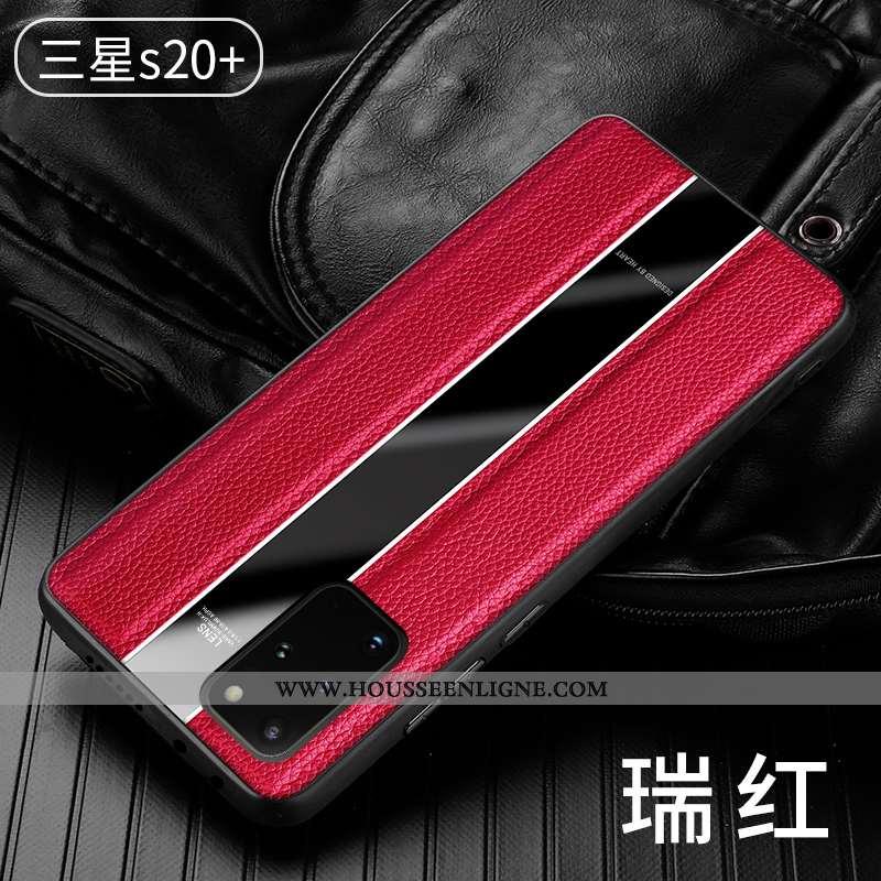 Housse Samsung Galaxy S20+ Légère Protection Étoile Tendance Coque Tout Compris Téléphone Portable R