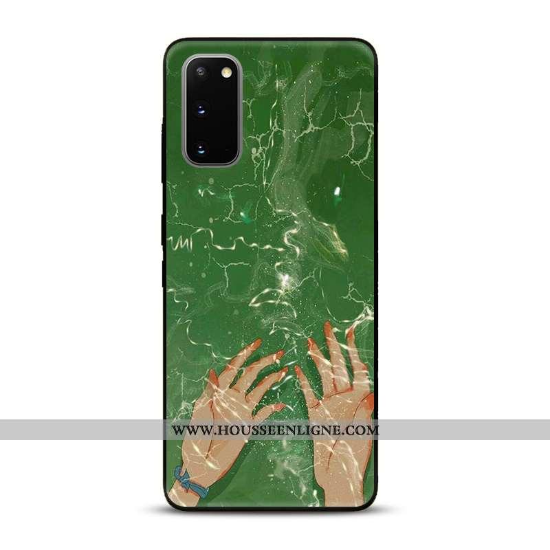 Housse Samsung Galaxy S20 Protection Dessin Animé Étui Tendance Coque Incassable Téléphone Portable