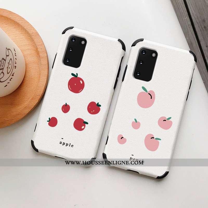 Housse Samsung Galaxy S20 Protection Personnalité Net Rouge Soie Mulberry Dessin Animé Frais Incassa