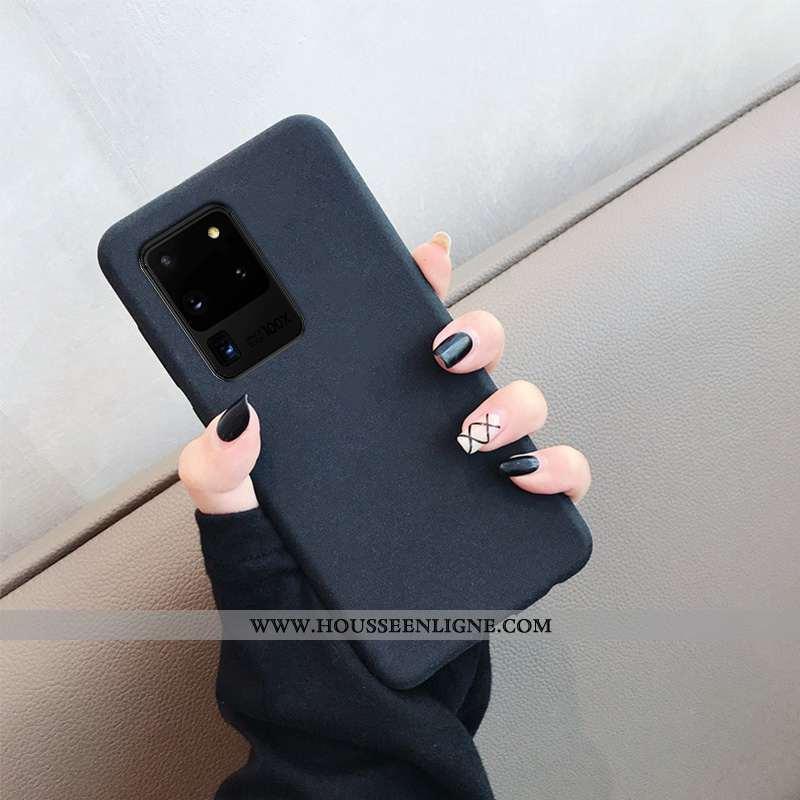 Housse Samsung Galaxy S20 Ultra Silicone Protection Légère Fluide Doux Tendance Nouveau Incassable N
