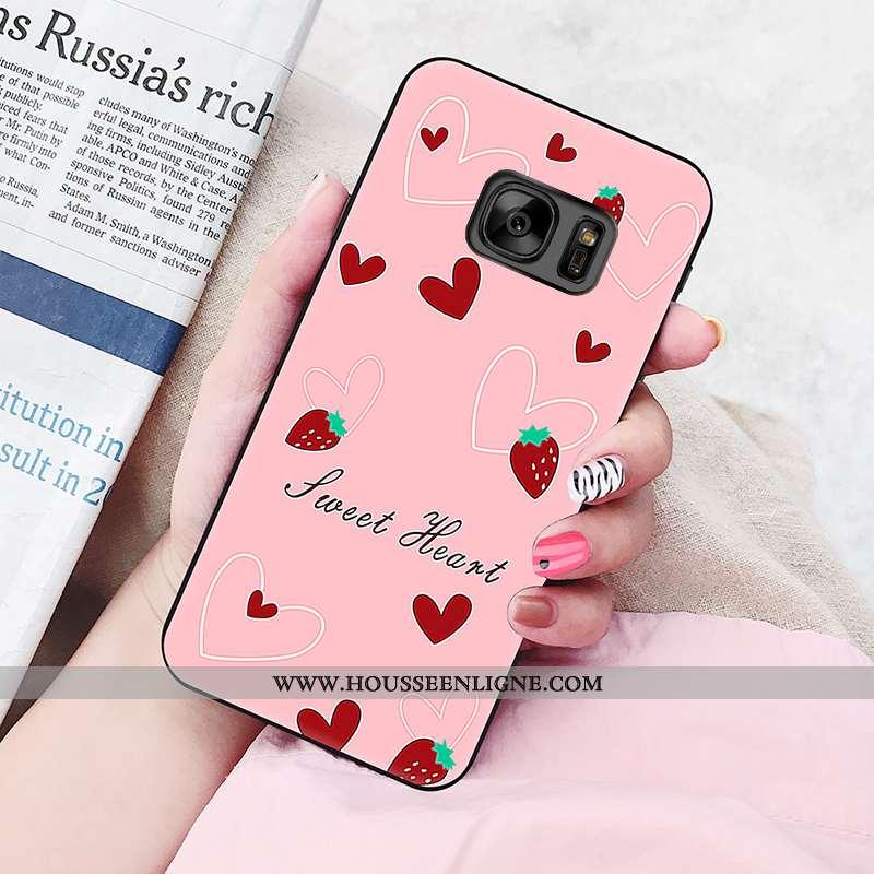 Housse Samsung Galaxy S6 Protection Personnalité Fluide Doux Silicone Étui Téléphone Portable Nouvea