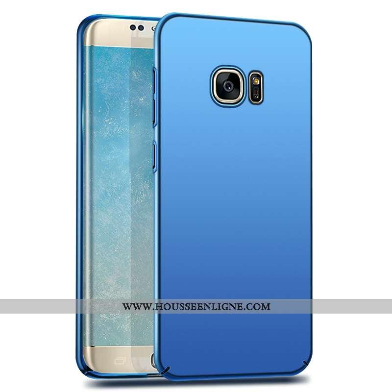 Housse Samsung Galaxy S7 Délavé En Daim Personnalité Étui Créatif Étoile Net Rouge Téléphone Portabl