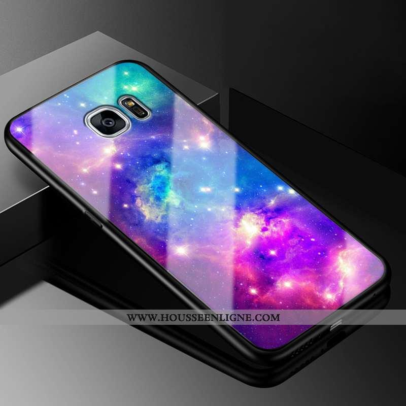 Housse Samsung Galaxy S7 Edge Dessin Animé Tendance Téléphone Portable Personnalité Coque Tout Compr