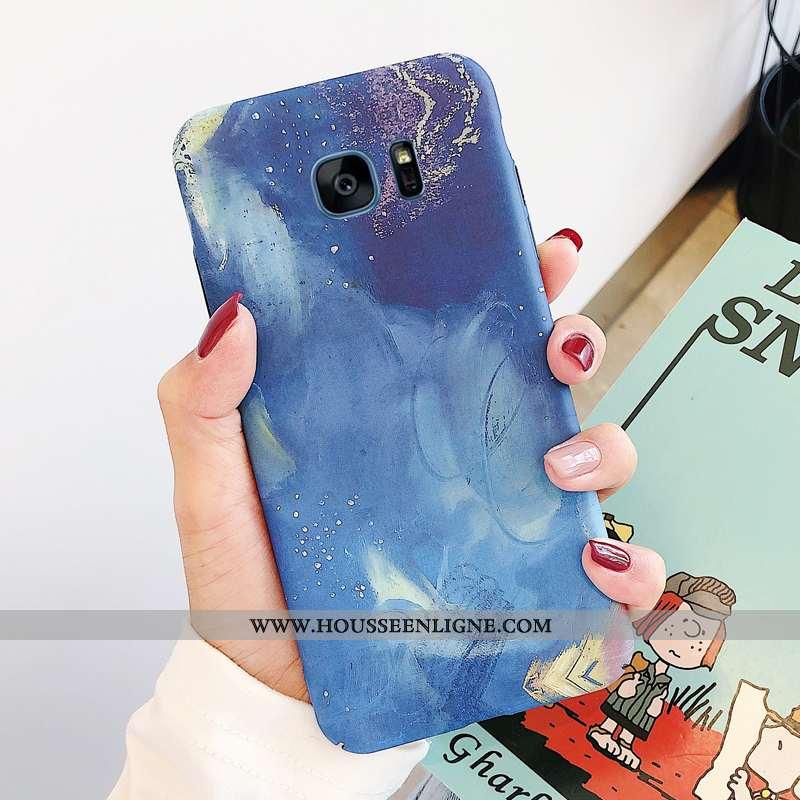 Housse Samsung Galaxy S7 Edge Tendance Personnalité Incassable Coque Amoureux Lumineuses Téléphone P