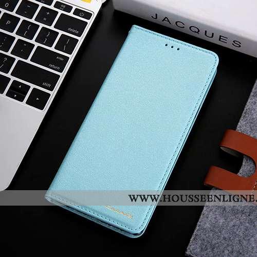 Housse Samsung Galaxy S8 Cuir Protection Téléphone Portable Étui Bleu Étoile