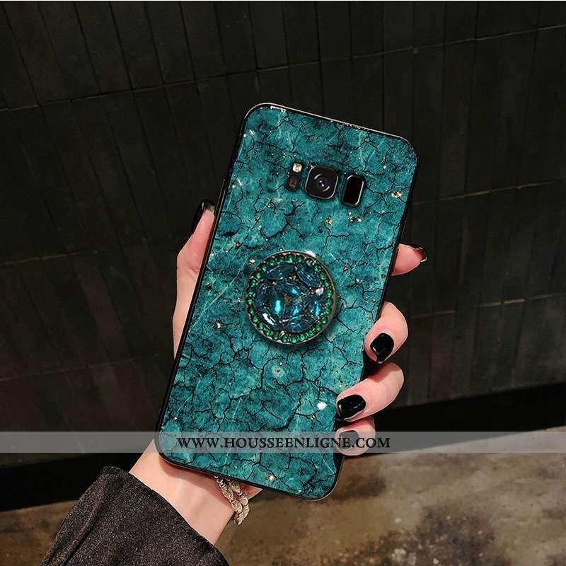 Housse Samsung Galaxy S8+ Mode Protection Difficile Incassable Vert Étui Tout Compris Verte