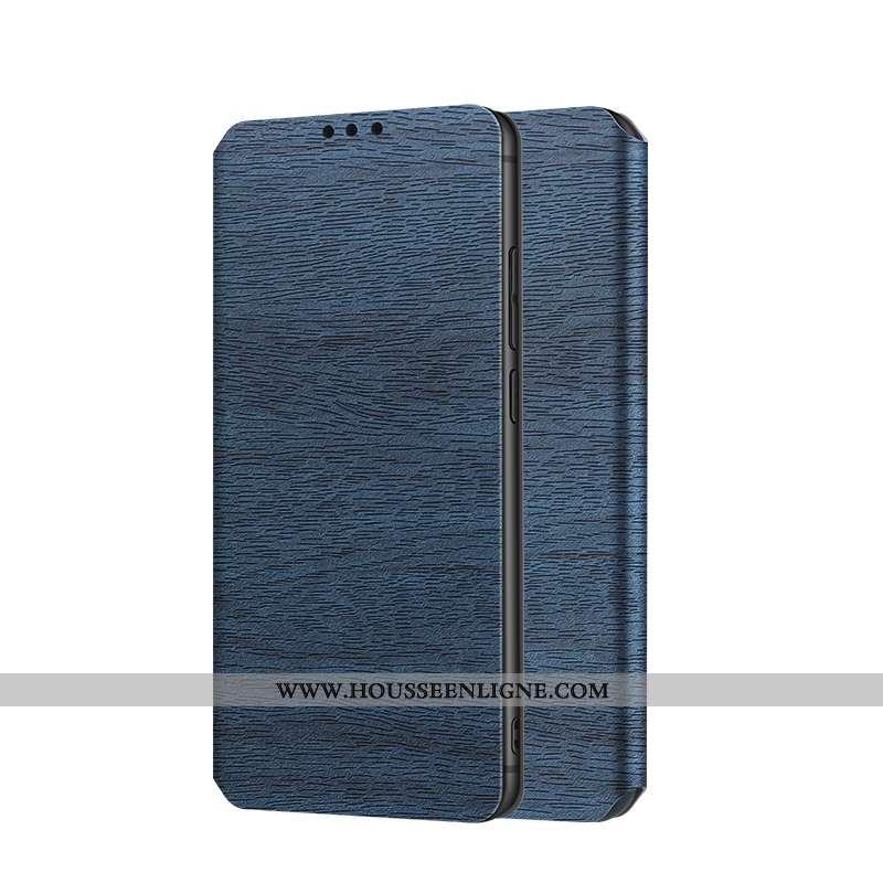 Housse Samsung Galaxy S9+ Protection Cuir Tout Compris Téléphone Portable Magnétisme Bleu Étoile