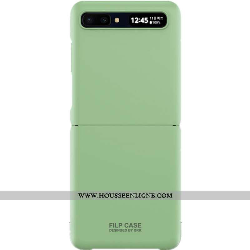 Housse Samsung Z Flip Tendance Légère Étoile Vert Ultra Protection Incassable Verte