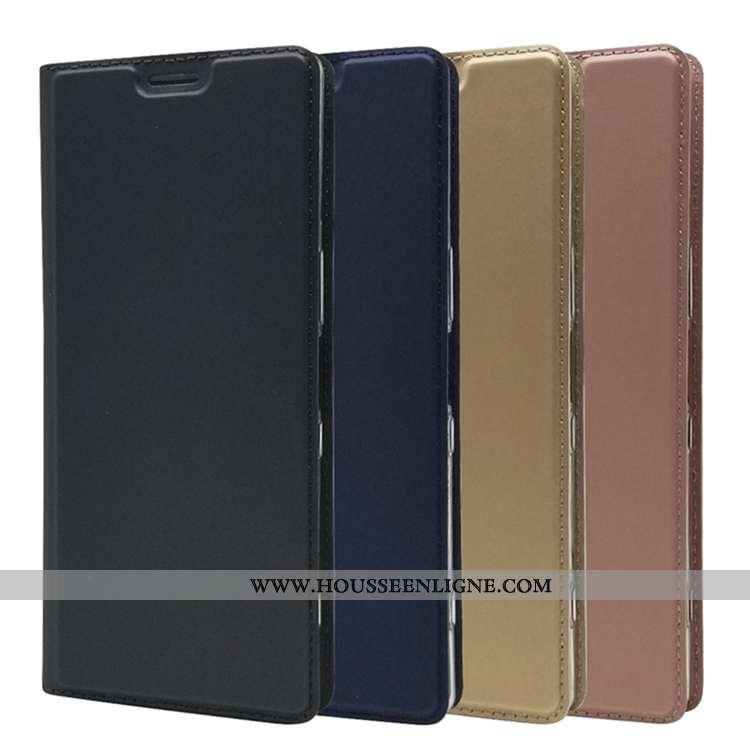 Housse Sony Xperia 1 Transparent Silicone Noir Coque Incassable Téléphone Portable