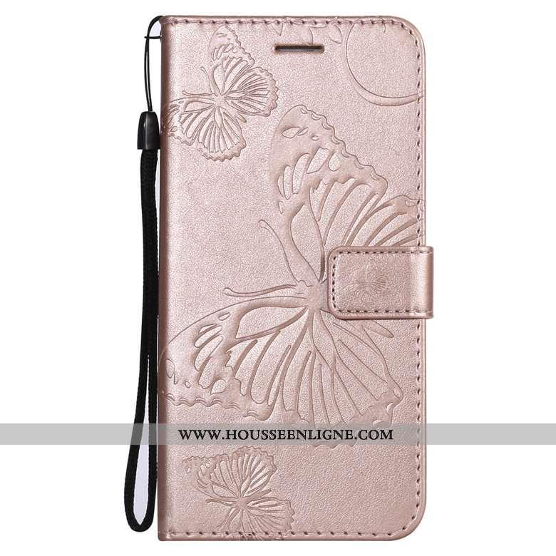 Housse Sony Xperia 10 Cuir Fluide Doux Incassable Téléphone Portable Rose Protection Tout Compris