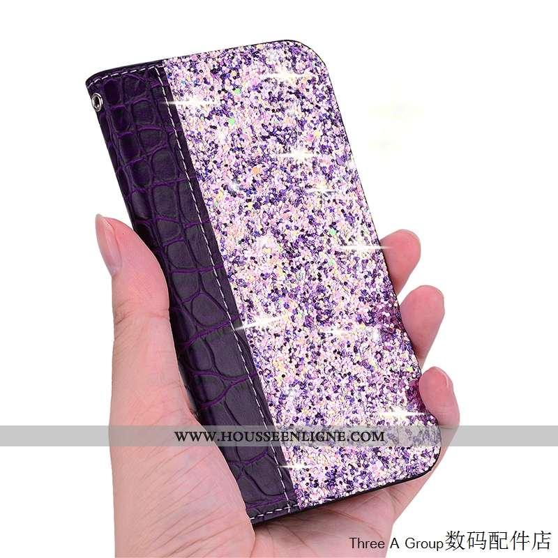 Housse Sony Xperia 10 Violet Incassable Carte Téléphone Portable Coque