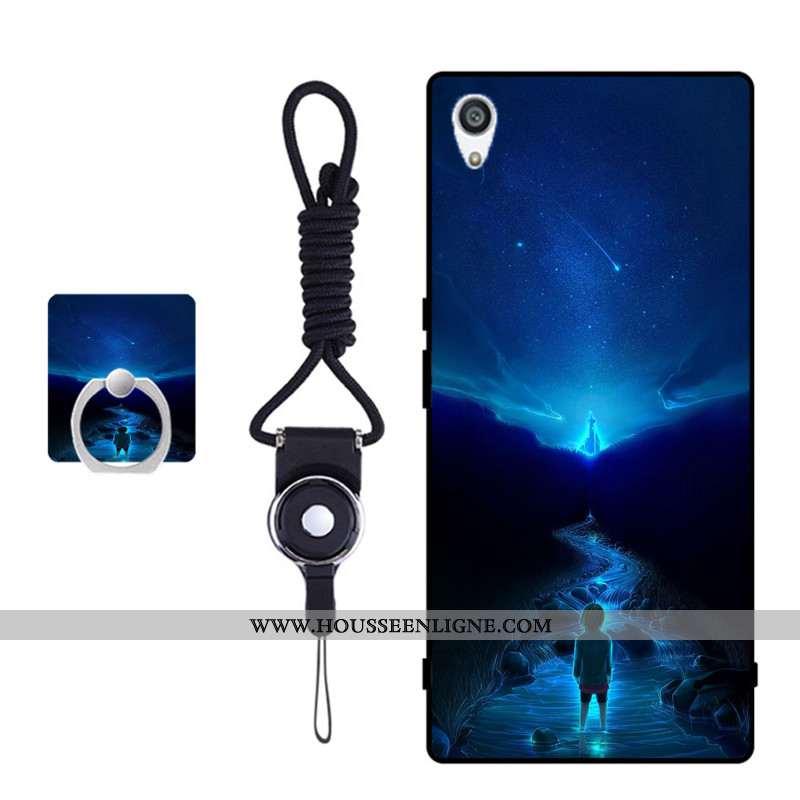 Housse Sony Xperia Xa Ultra Protection Fluide Doux Bleu Étui Coque Téléphone Portable