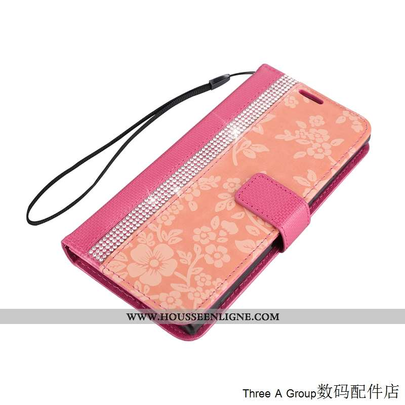 Housse Sony Xperia Xa1 Silicone Protection Fluide Doux Incassable Carte Coque Rose