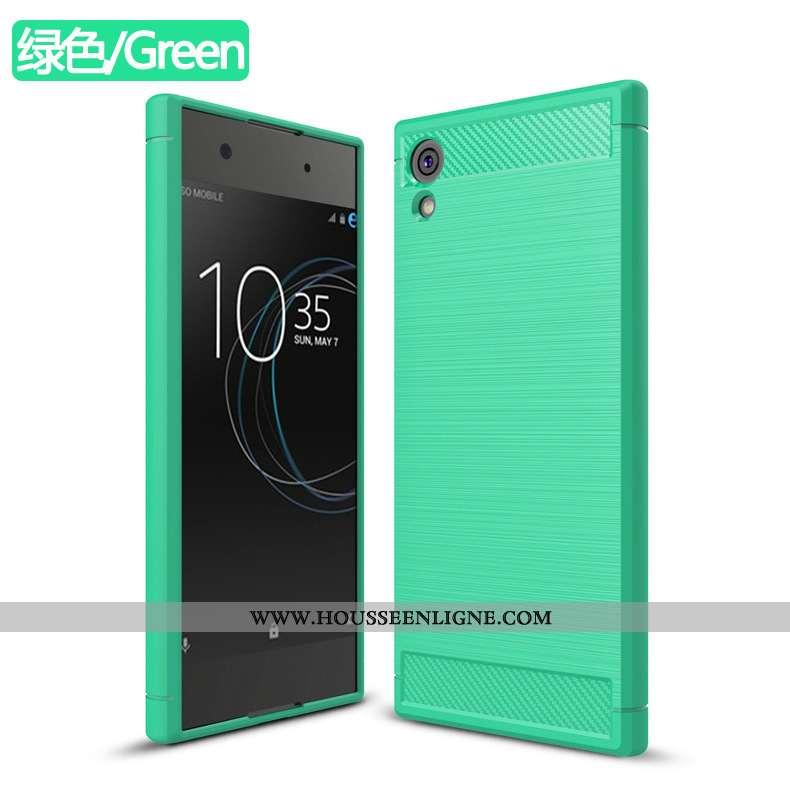 Housse Sony Xperia Xa1 Téléphone Portable Vert Incassable Coque Étui Verte